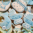 Christening biscuits